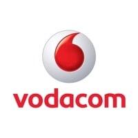 Vodacom logo; a user of VISION software