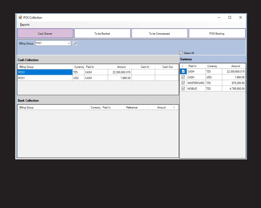 VISION | POS & Sales Module