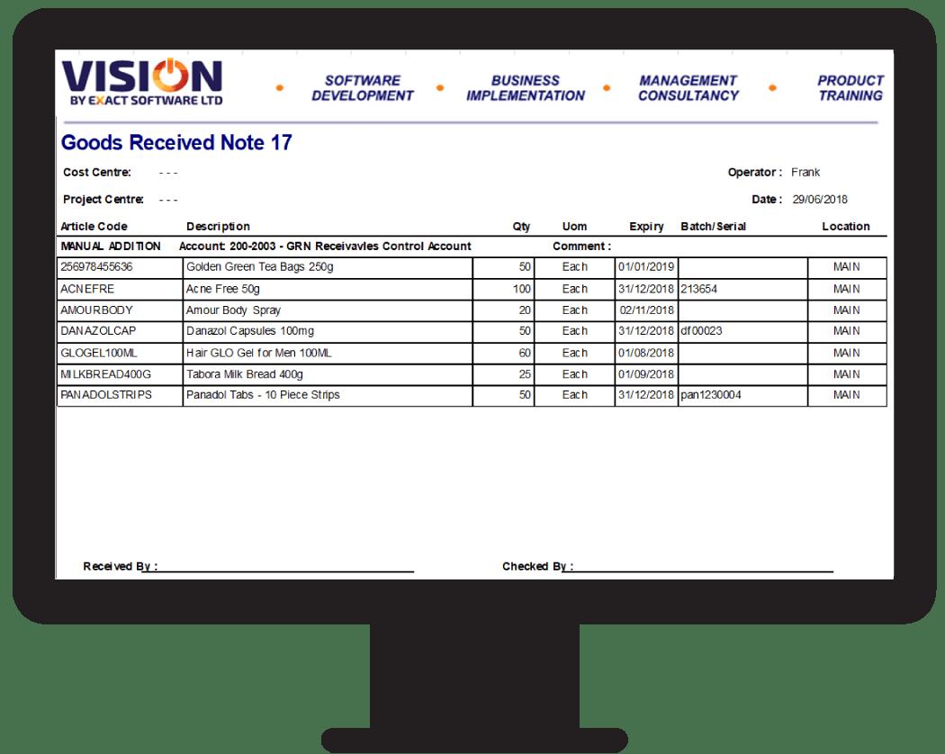 GRN Report