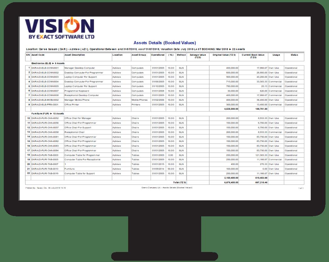 Assets List